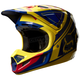 Yellow/Blue V4 Intake Helmet