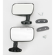 Black Rear View Mirror - LM-4160