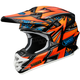 Orange/Blue/Black VFX-W Maelstrom TC-8 Helmet