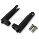 Black Passenger Footpeg Mount Kit - 1620-1057