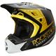 Matte Black/White V2 Rockstar Helmet