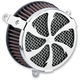 Chrome Swept Air Cleaner Kit - 606-0100-01