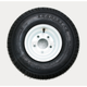 K399 4-Ply 18.5 x 8.50-8 Tire W/5-Hole Solid Wheel Assembly - 3H270