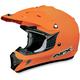 Orange FX-17 Helmet
