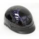 Purple Boneyard Beanie Half Helmet