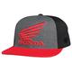 Charcoal Heather Premium Honda Flex-Fit Hat