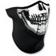 Skull 3 Panel Half Face Mask - WNFM002H3