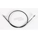 Black Vinyl Speedometer Cable - 0655-0032