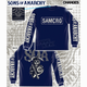 SAMCRO Cracked Long Sleeve T-Shirt