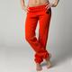 Womens Orange Flame Enhance Pants