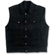 Black Collared Prime Cut Vest