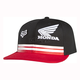 Black/Red Race 110 Snapback Hat - 09468-017-OS