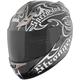 Black/Dark Silver SS1000 The Power & The Glory Helmet