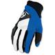 Blue Qualifier Gloves
