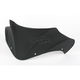 8 3/4 in. Flat Black Peakline Windshield - 480-100-60