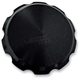 Black Smooth Gas Cap - 10-442B