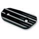 Black Finned Inspection Cover - 10-664B