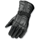 All Season Black Leather Gloves