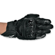 Black GPX Leather Gloves