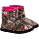 Womens Realtree Camo Slip-On Booties