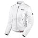 Womens White Hella Leather Jacket
