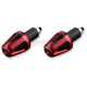 Red/Black D-Axis Bar Ends - DXB-RD