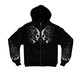 Tribal Skulls Zip Hoody