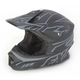 Black/Charcoal Racing Blade Super Lite Helmet