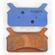 High Friction HH+ Sintered Metal Brake Pads - SDP845SNX
