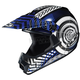 Youth Blue/Black/White Wanted CL-XY Helmet