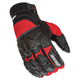 Black/Red Atomic X Gloves