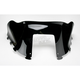 6 in. Low-Cut Gloss Black Windshield - 479-210-50