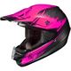 Hi-Viz Neon Pink/Black MC-8F CS-MX Second Phase Helmet
