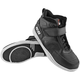Black Run With The Bulls Moto Shoes