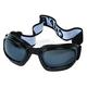 Black G-904 Goggles w/Smoke Lens - G-904BK/SM