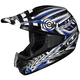 Black/Blue/White Charge CS-MX Helmet