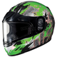 Youth Green/Dark Silver CL-YSN Katzilla Helmet
