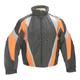 Black/Orange Storm Jacket