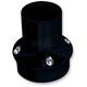 Gloss Black Dimpled Heel Shift Eliminator - C1239-B