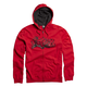 Red Unruler Zip Hoody