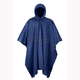 Navy Blue Emergency Travel Poncho - 51-111NB