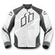 White Hypersport Prime Leather Jacket