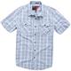 Blue Vex Shortsleeve Shirt