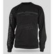 Black Goldwing Long Sleeve T-Shirt