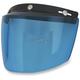 Blue Three-Snap Flip Bubble Shield/Visor - 0131-0078