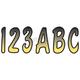 Series 200 Gradation Number/Letter Kit - YEBKG200