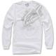 White Primer Long Sleeve Shirt