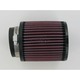Universal Round/Straight Clamp-On Air Filter - 4 1/2 in. Diameter x 5 in. Long - RB-0910
