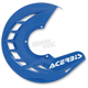 Blue X-Brake Front Disc Cover - 2250240211