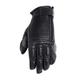 Black Dezel Leather Gloves